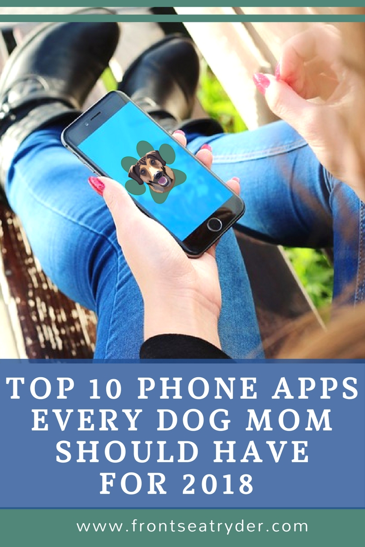 Are you a busy dog mom like me? If you are, I want to share with you some of the apps that can help organize your doggie tasks. I have put together a variety of phone apps that every dog mom should have. Make Life Easier in 2018 with these must-have smartphone apps for your dog.