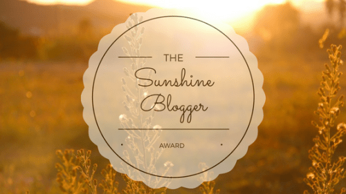 I wasnominated for The Sunshine Blogger Award! The Sunshine Blogger Award is an award given by bloggers to bloggers. It is an awesome way to get to know other bloggers. It is a wonderful way to promote and network with other like-minded creatives.