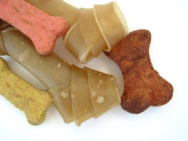 Dog bones and treats