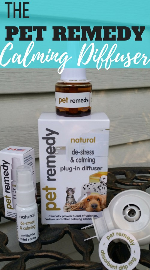 "The Pet Remedy calming diffuser and spray claim to be a ""clinically proven blend of Valerian, Vetiver, and other calming essential oils."" These oils work together to calm and distress your pets. Here is what happened when I used it on my roommate's very anxious dog."