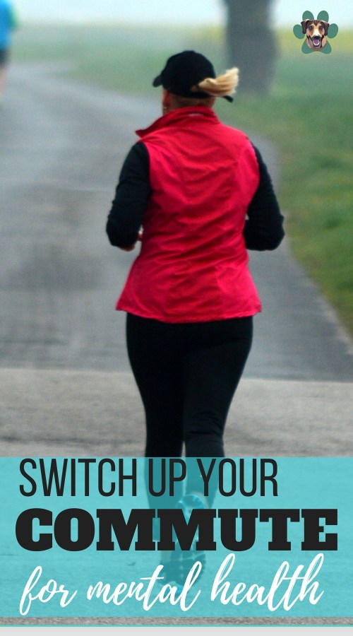 Do you find yourself getting stressed to and from work? Could you switch up your commute for your mental health? Making little changes can make a difference