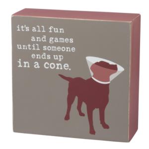 Fun & Games – Box Sign
