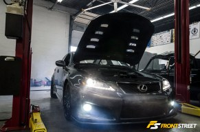 This Lexus IS-F Gets A Performance Boost From PPE Engineering, Gear One Performance, and RR-Racing