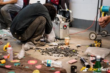 Performance Art: Akira Nakai Builds The RAUH-Welt Experience