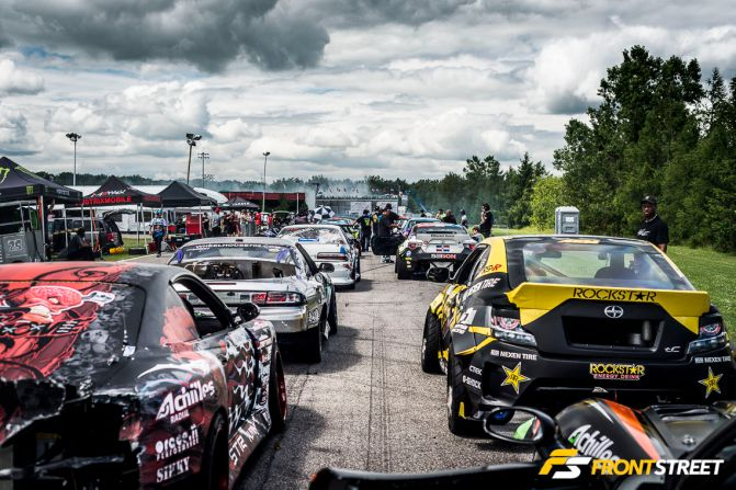The Canadian Outlet: Formula Drift Action Smokes Saint-Eustache