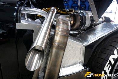 Bloody Brilliant Bugeye: Design Craft Fabrication's 450 WHP Honda-Powered British Classic