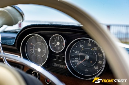 Rarified Air: Jimmy Uria's European-spec 1972 Mercedes-Benz 280SE 3.5