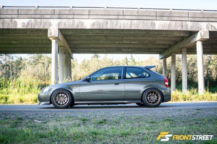 Building More Than A Car: Huy Hoang's 1996 Honda Civic DX