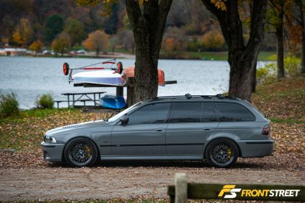 As Close As Possible: Gabriel McClintock's 2003 BMW E39 'M5' Touring