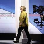 Clinton Makes Pitch To Young Women, Minorities