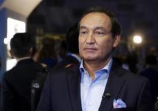 FILE - In this Thursday, June 2, 2016, file photo, United Airlines CEO Oscar Munoz