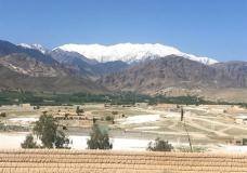 """A general view of Achin district, in Jalalabad, after U.S. forces dropped Thursday the bomb, Afghanistan, Friday, April 14, 2017. U.S. forces in Afghanistan on Thursday struck an Islamic State tunnel complex in eastern Afghanistan with """"the mother of all bombs,"""" the largest non-nuclear weapon every used in combat by the U.S. military, Pentagon officials said. (AP Photo/Rahmat Gul)"""