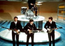 "FILE - In this Feb. 9, 1964, file photo, the Beatles perform on the CBS ""Ed Sullivan Show"" in New York. Sirius announced Tuesday, May 2, 2017, that it is achieving a long-sought dream with its own Beatles channel, starting on May 18, 2017. (AP Photo/File)"