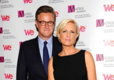 "FILE - In this Monday April 22, 2013, file photo, MSNBC's ""Morning Joe"" co-hosts Joe Scarborough and Mika Brzezinski, right, attend the 2013 Matrix New York Women in Communications Awards at the Waldorf-Astoria Hotel in New York. MSNBC confirmed Thursday, May 4, 2017, that the ""Morning Joe"" co-hosts are engaged. (Photo by Evan Agostini/Invision/AP, File)"