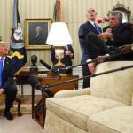AP FACT CHECK: Trump Says Comey Cleared Him. He didn't