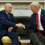 'No chaos,' Trump Insists As He Swears In New Chief Of Staff