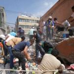 7.1 Magnitude Quake Kills 149 As Buildings Crumble In Mexico