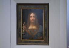 "The last Leonardo da Vinci painting in private hands is going to auction at Christie's in New York for an estimated $100 million. Da Vinci's depiction of Jesus, titled ""Salvator Mundi,"" will be auctioned on Nov. 15. (Oct. 10)"