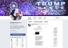 This image of Donald Trump Jr.'s Twitter account shows a series of direct messages he received from the Twitter account behind the WikiLeaks website, including his responses to the communications, which he posted on Monday, Nov. 13, 2017. The direct messages had been turned over to congressional committees investigating Russian intervention in the 2016 election and if there were any links to Donald Trump's campaign. Trump Jr.'s release of the messages on Twitter came hours after The Atlantic first reported them. (Donald Trump Jr.'s Twitter account via AP)