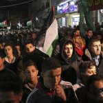 Protesters Rally In Gaza After Trump Decision