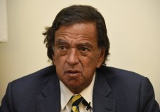 "During an interview with the Associated Press, Former New Mexico Gov. Bill Richardson said he has resigned from an advisory panel trying to tackle the massive Rohingya refugee crisis, Wednesday, Jan. 24, 2018, in Yangon, Myanmar. Richardson said the attempt to repatriate the refugees was a ""whitewash and a cheerleading operation"" for the government of Myanmar leader Aung San Suu Kyi. (AP Photo/Thet Htoo)"