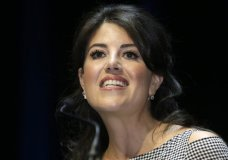 """FILE - In this June 25, 2015, file photo, Monica Lewinsky attends the Cannes Lions 2015, International Advertising Festival in Cannes, southern France. Former White House intern Monica Lewinsky says the affair that led to impeachment proceedings against President Bill Clinton """"was not sexual assault"""" but """"constituted a gross abuse of power."""" Lewinsky writes in """"Vanity Fair"""" that she is """"in awe of the sheer courage"""" of women who've been confronting """"entrenched beliefs and institutions."""" She says she was recently moved to tears when a leader of the #MeToo movement told her, """"I'm so sorry you were so alone."""" (AP Photo/Lionel Cironneau, File)"""