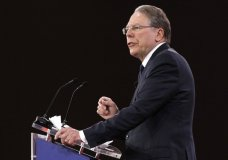 National Rifle Association Executive Vice President and CEO Wayne LaPierre, speaks at the Conservative Political Action Conference (CPAC), at National Harbor, Md., Thursday, Feb. 22, 2018. (AP Photo/Jacquelyn Martin)