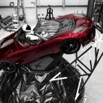 SpaceX's Big New Rocket Blasts Off With Sports Car On Top