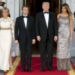 First Lady Steps Into Spotlight For State Visit With France