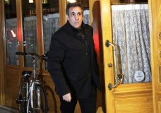 Michael Cohen, U.S. President Donald Trump's personal attorney, leaves a restaurant, Tuesday, April 10, 2018, in New York. FBI agents on Monday raided Cohen's home, hotel room and office, seizing records on topics including a $130,000 payment made to porn actress Stormy Daniels in exchange for her silence about an affair she said she had with Trump in 2006. (AP Photo/Frank Franklin II)