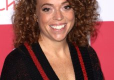 FILE - In this March 24, 2018 file photo, Michelle Wolf arrives at the 6th Annual Hilarity For Charity Los Angeles Variety Show at the Hollywood Palladium n Los Angeles. White House aides, reporters and other famous-for-Washington types are set to gather without President Donald Trump to toast press freedom. It's the second White House Correspondents' Association dinner in a row without Trump. Wolf is on tap to deliver what's traditionally been a roast of the administration and the press. (Photo by Willy Sanjuan/Invision/AP, File)