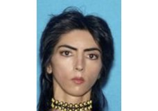 This undated photo provided by the San Bruno Police Department shows Nasim Aghdam. Law enforcement officials have identified Aghdam as the person who opened fire with a handgun, Tuesday, April 3, 2018, at YouTube headquarters in San Bruno, Calif., wounding several people before fatally shooting herself in what is being investigated as a domestic dispute, according to authorities. (Courtesy of San Bruno Police Department via AP)
