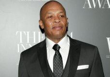 "FILE - In this Nov. 5, 2014 file photo, Dr. Dre attends the WSJ. Magazine 2014 Innovator Awards at MoMA in New York. Dr. Dre has lost his trademark fight against Dr. Drai. The rapper objected to the trademark application of the Pennsylvania gynecologist whose nickname is spelled differently but sounds the same. Dr. Draion M. Burch's website advertises that he's an ""obgyn and media personality."" (Photo by Andy Kropa/Invision/AP, File)"