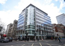 FILE - This March 20, 2018 file photo shows the offices of Cambridge Analytica in central London. A published report says the data firm at the center of Facebook's privacy debacle is closing its doors. Cambridge Analytica has been linked to Donald Trump's 2016 presidential campaign. The British firm suspended its CEO Alexander Tayler in April amid investigations. The Wall Street Journal says the shutdown on Wednesday, May 2 comes as the firm is losing clients and facing legal fees from the Facebook case. (Kirsty O'Connor/PA via AP, file)