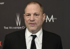 FILE - In this Jan. 8, 2017, file photo, Harvey Weinstein arrives at The Weinstein Company and Netflix Golden Globes afterparty in Beverly Hills, Calif. Law enforcement officials say Weinstein is expected to surrender to authorities Friday morning to face criminal charges in a months-long investigation into allegations that he sexually assaulted women. The officials say the charges relate to related to a former actress, Lucia Evans, who said Weinstein assaulted her in his New York offices in 2004. (Photo by Chris Pizzello/Invision/AP, File)