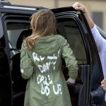 Melania Trump Dons 'I Really Don't Care, Do U?' Jacket