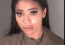 "This Monday, July 9, 2018 photo released by the Atlanta City Detention Center shows Atasha Jefferson, better known as Tommie Lee, from the reality series, ""Love and Hip Hop: Atlanta,"" after her arrest in Atlanta. Jefferson was arrested after police say she refused orders from officers and hit a valet on the head. (Atlanta City Detention Center via AP)"