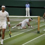 Nadal Outlasts Del Potro In Wimbledon Quarters