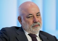 FILE - In this May 31, 2016, file photo, Russian businessman Viktor Vekselberg attends the Russian International Affairs Council in Moscow, Russia. Long before Vekselberg was tied to a scandal over the president and a porn star, the Russian oligarch had been positioning himself to extend his influence in the United States. (AP Photo/Pavel Golovkin, File)