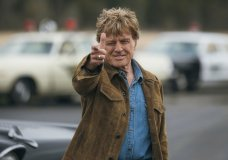 "This image released by Fox Searchlight shows Robert Redford in a scene from the film, ""The Old Man & The Gun."" Redford stars as an aged bank robber in David Lowery's film based-on-a-true-story heist. (Eric Zachanowich/Fox Searchlight via AP)"