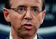 file photo, Deputy Attorney General Rod Rosenstein