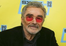 """FILE - In this March 12, 2016 file photo, actor Burt Reynolds appears at the world premiere of """"The Bandit"""" during the South by Southwest Film Festival in Austin, Texas. Reynolds, who starred in films including """"Deliverance,"""" """"Boogie Nights,"""" and the """"Smokey and the Bandit"""" films, died at age 82, according to his agent. (Photo by Jack Plunkett/Invision/AP, File)"""