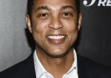 FILE - In this April 12, 2018 file photo, CNN news anchor Don Lemon attends The Hollywood Reporter's annual 35 Most Powerful People in Media event in New York. CNN isn't commenting about Don Lemon's statement that white men represent the biggest terrorist threat in the country. Lemon's statement, on his show Monday, attracted criticism in conservative circles. He was talking about the negative attention given to a caravan of potential refugees in central America. (Photo by Evan Agostini/Invision/AP, File)