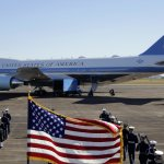 George HW Bush Flies Back To Capital To Lie In State