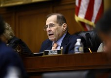 House Judiciary Committee Chairman Jerrold Nadler, D-N.Y., speaks during a hearing without former White House Counsel Don McGahn, who was a key figure in special counsel Robert Mueller's investigation, on Capitol Hill in Washington, Tuesday, May 21, 2019. (AP Photo/Patrick Semansky)
