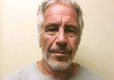 FILE - This March 28, 2017, file photo, provided by the New York State Sex Offender Registry shows Jeffrey Epstein. Epstein is set to return to court Wednesday, July 31, 2019, to face sex trafficking charges just days after he was found injured in his cell. (New York State Sex Offender Registry via AP)