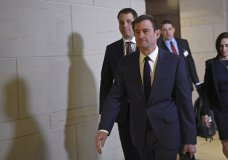 David Hale, Under Secretary of State for Political Affairs, arrives on Capitol Hill in Washington, Wednesday, Nov. 6, 2019, to be interview for the impeachment inquiry. (AP Photo/Susan Walsh)