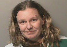 """FILE - This undated file photo provided by the Polk County (Iowa) Jail shows Nicole Marie Poole Franklin. Clive, Iowa police on Thursday, Dec. 19, 2019, charged Franklin, of Des Moines with attempted murder. She's accused of purposely running down a 14-year-old girl who was walking along a sidewalk in a suburban neighborhood. Police say Franklin told investigators she hit the girl because she is """"a Mexican."""" The girl was seriously hurt but is recovering from her injuries. Franklin is being held in the Polk County Jail. (Polk County Jail via AP, File)"""