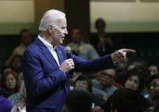 Former Vice President and Democratic presidential candidate Joe Biden speaks at a campaign event Saturday, Jan. 11, 2020, in Las Vegas. (AP Photo/John Locher)