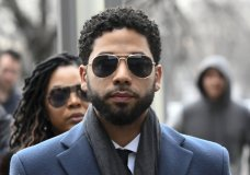 FILE - In this March 14, 2019, file photo, Empire actor Jussie Smollett arrives at the Leighton Criminal Court Building for his hearing in Chicago. Smollett faces new charges for reporting an attack that Chicago authorities contend was staged to garner publicity, according to media reports Tuesday, Feb. 11, 2020. The charges include disorderly conduct counts, according to the reports that cite unidentified sources. (AP Photo/Matt Marton, File)